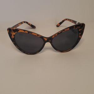 UV400 Leopard Print Sunglasses